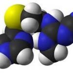 estructura química de la cimetidina